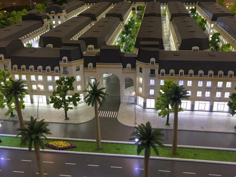 Mô hình 3D liền kề La Casta HiBrand văn phú - cổng 2