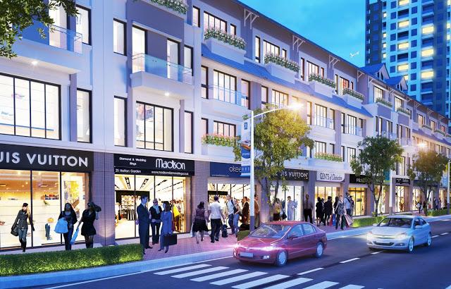 Trung tâm thương mại - dự án Hibrand Văn Phú Hà Đông
